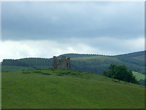 NT2839 : Remains of Horsbrugh Castle by JThomas