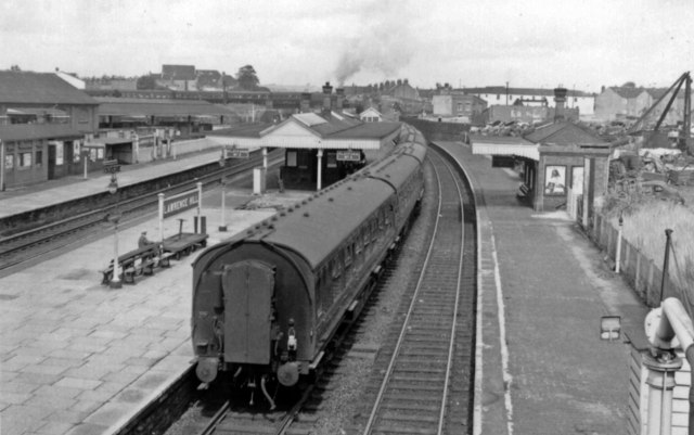 Lawrence Hill station, 1962