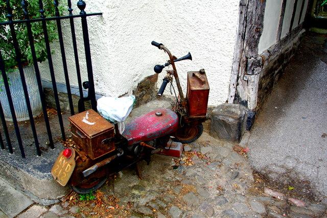 Corgi scooter