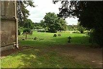 SO8845 : Churchyard, St Mary Magdalene church, Croome by Derek Harper