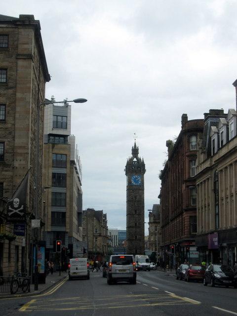 Tolbooth Cross, High Street, Glasgow