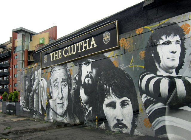 The Clutha bar, Clyde Street, Glasgow