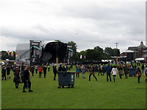 NS5964 : The main stage at the TRNSMT Festival, Glasgow Green by Mike Pennington