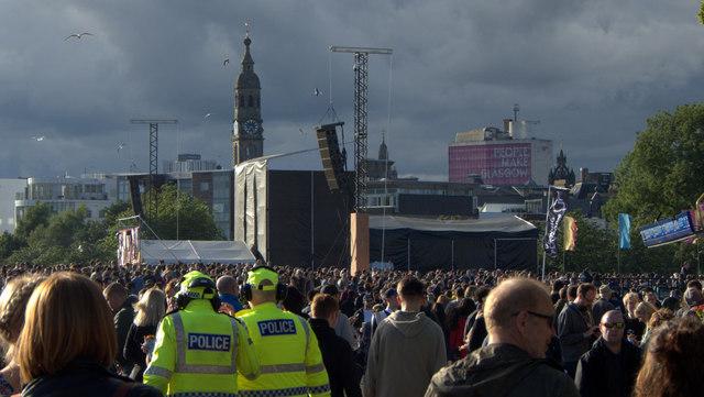 The TRNSMT Festival, Glasgow Green