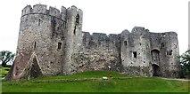 ST5394 : Chepstow Castle by Graham Jones