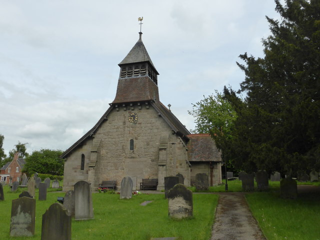St Giles' Church: West elevation and Bellcote