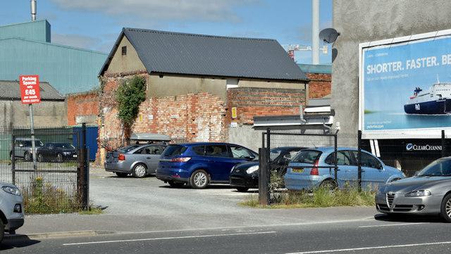 Development site, 53-63 Ravenhill Road, Belfast (July 2017)