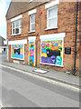 TR0624 : Mural, Tritton Lane by John Baker