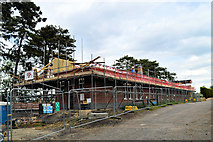 SP0838 : A building site in Broadway 2 ....... by Philip Pankhurst