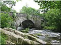 NY3403 : Road Bridge in Skelwith Bridge by G Laird