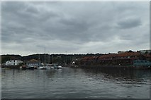 ST5772 : Towards Poole's Wharf by DS Pugh