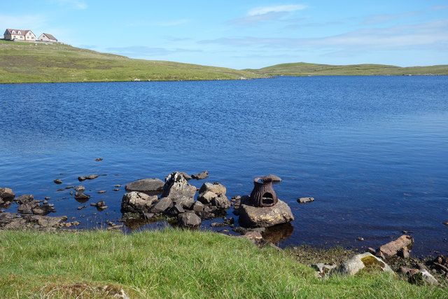 Rocks and Old Iron, Loch of Huxter