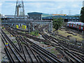TQ3490 : Northumberland Park Depot - Victoria Line by Mike Quinn