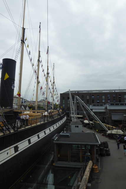 SS Great Britain from the walkway