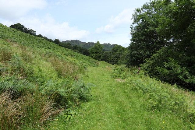 Path above Kentmere Tarn