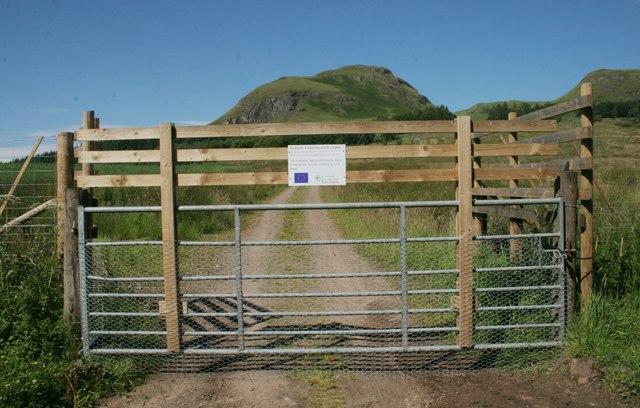 Deer-proofed gate