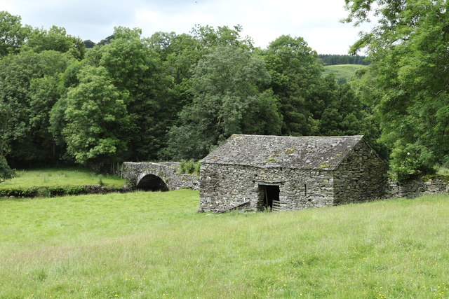 Barn near Ulthwaite Bridge