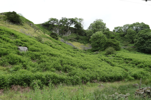 Site of a disused mine