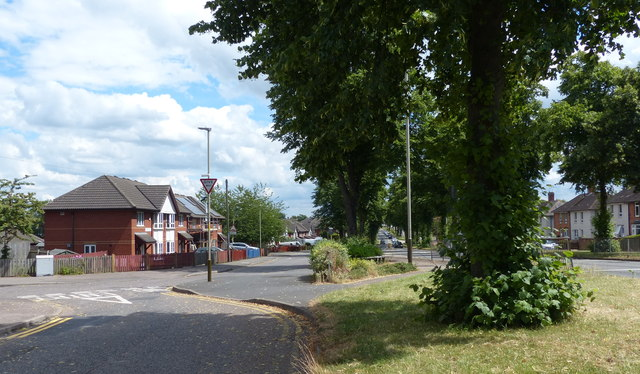 Southfields Drive in Leicester