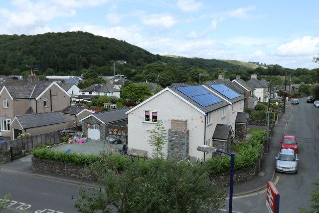 Solar power in Staveley