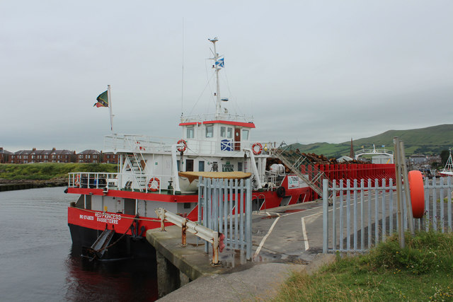 Red Princess, Girvan Harbour