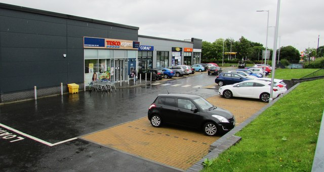 New shops, Glenwood, Glenrothes