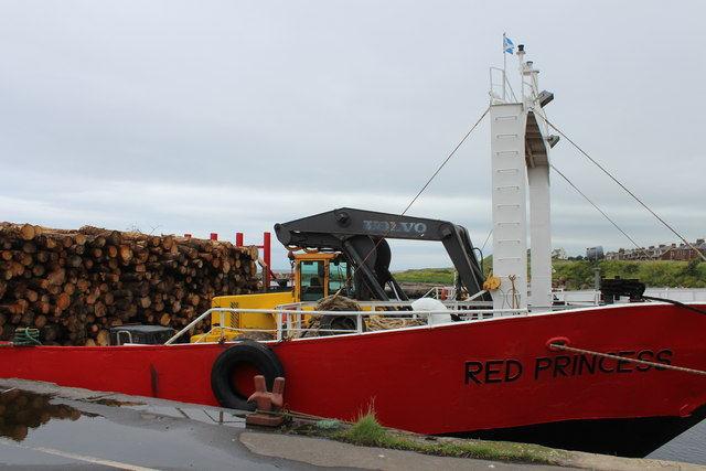 Red Princess, Girvan Harbour