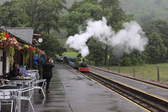 River Irt arrives at Dalegarth station