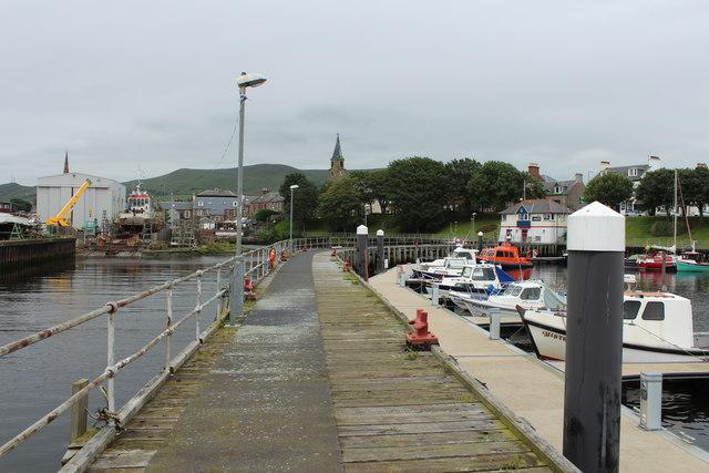 Jetty, Girvan Harbour