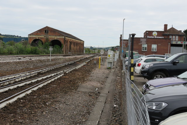Exeter St David's northern approaches
