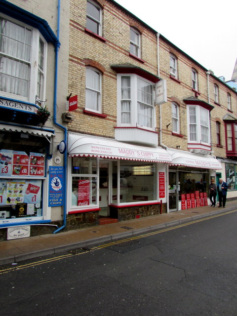 Maddy's Chippy and Maddy's Restaurant, St James Place, Ilfracombe
