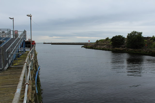 Water of Girvan at Girvan Harbour