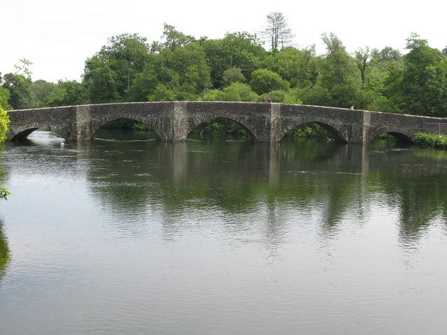 Road Bridge at Newby Bridge