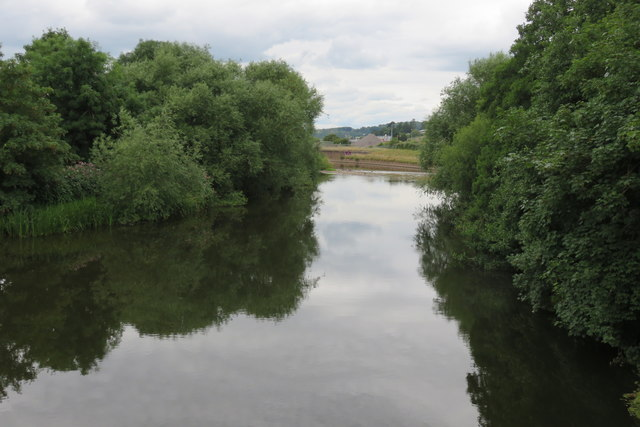 River Exe - eastern channel