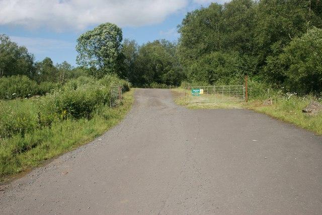 Entrance to Muirhouse Farm