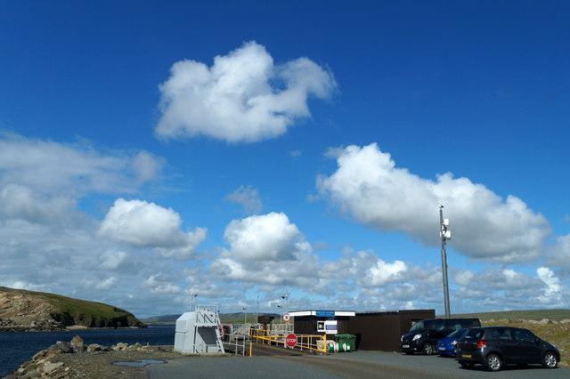 Gutcher ferry terminal