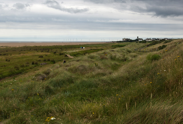 The path towards Hilbre Point