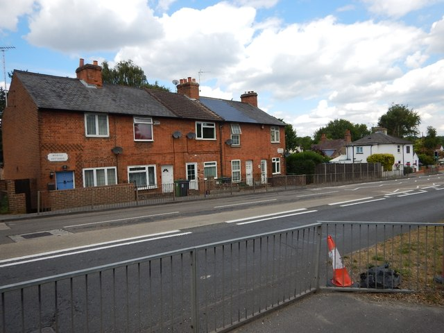 Bagshot - Terrace Cottages on the London Road