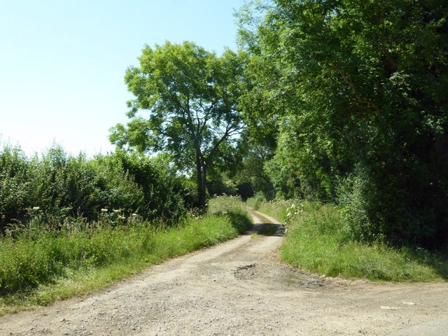 Former byway to Marston Meysey