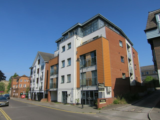 Apartment block on Lyons Crescent