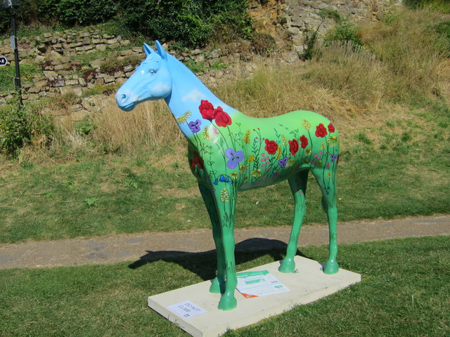 Herd of the Hospice horse