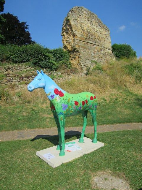 Herd of the Hospice horse N°5