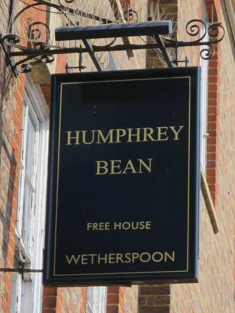 Humphrey Bean sign