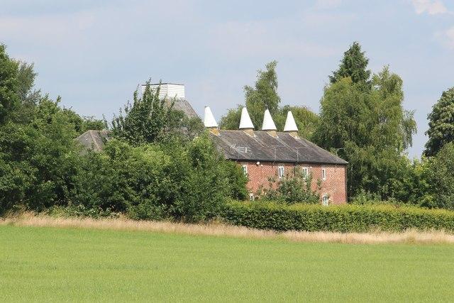Rock Farm Oast, Gibbs Hill, Nettlestead
