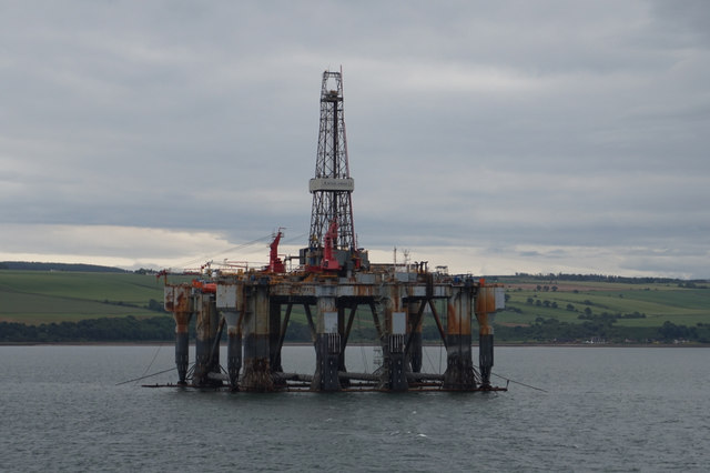 Ocean Nomad Oil Rig, Cromarty Firth