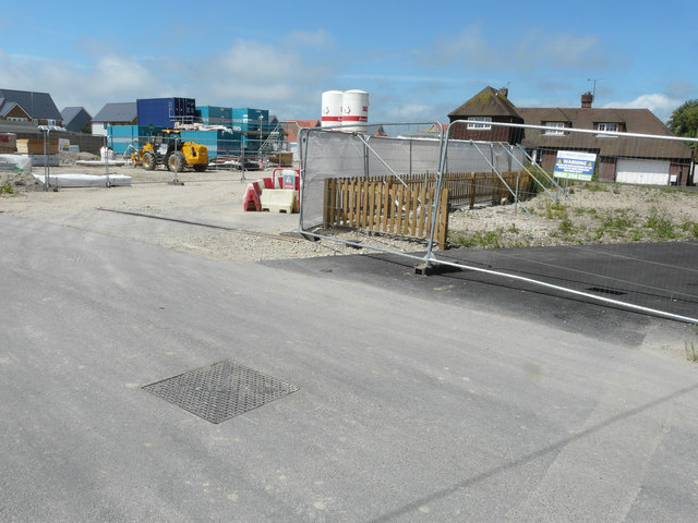 Contractors' site, Cockreed Lane
