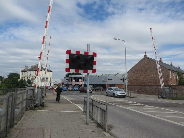 Level Crossing, Quay Road, Bridlington