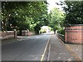 SJ8055 : Fields Road, Alsager by Jonathan Hutchins