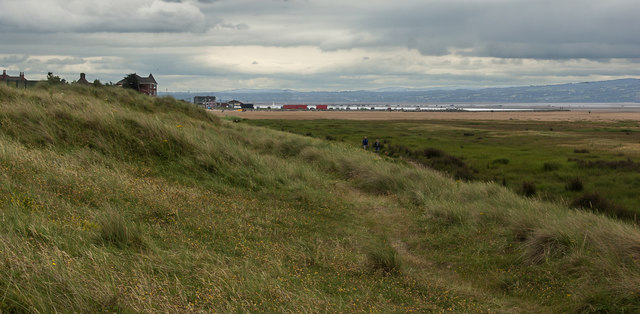 The path towards West Kirby
