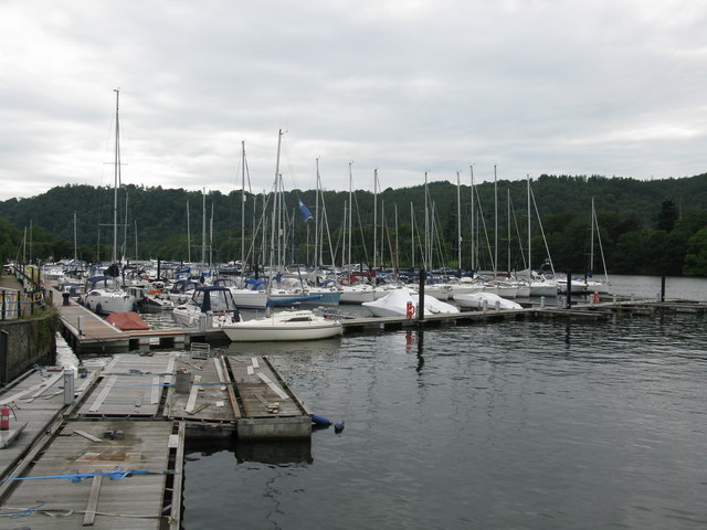 Landing Stages, Windermere